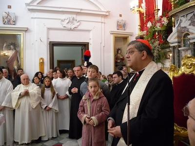 Fondazione mediterraneo il cardinale sepe alla festa del - Agenzie immobiliari san sebastiano al vesuvio ...