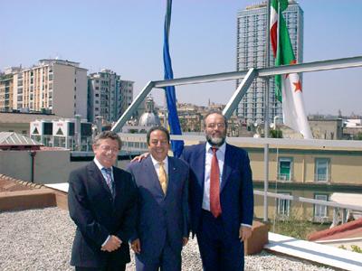 Fondazine Mediterraneo - Foto Visita dell´ambasciatore ...